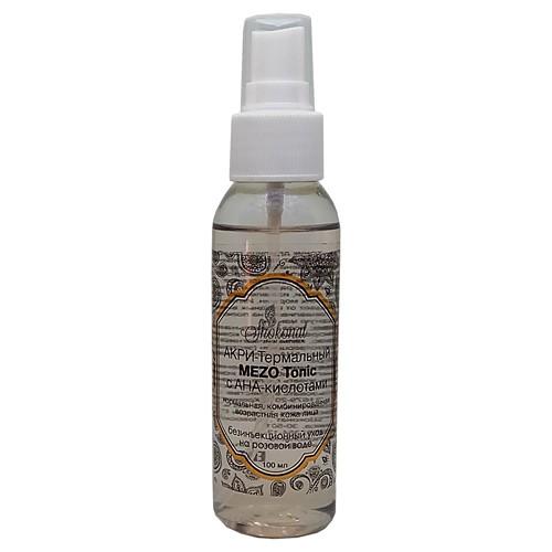АКРИ-Термальный MEZO Tonic с АНА-кислотами. Безинъекционный уход на розовой воде. Шоконат